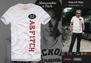 abercrombie fitch round neck t-shirt, v-neck t-shirt, AF polo t-shirt