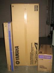 Brand new Yamaha Tyros 4